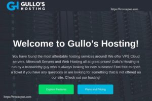 Gullo's Hosting – $3.5/year NAT + IPv6 VPS Hosting Offers