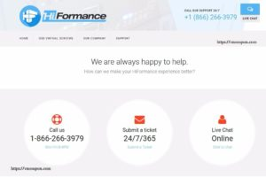 HiFormance – Special OpenVZ VPS from $0.75/month – 4 Locations – DOUBLE CPU OR MEMORY ON 3 YEAR PREPAY