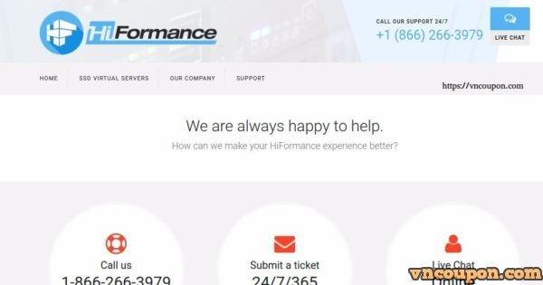 [Lunar New Year 2018] HiFormance Special VPS Offers from $7.5/Year