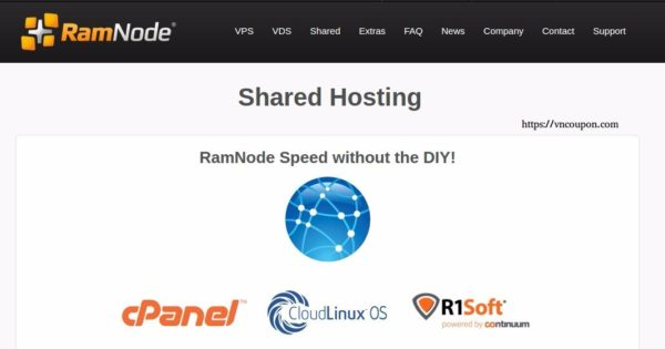 Ramnode – SSD Shared Hosting now available – Get 25% off promo code