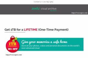 Zoolz – Get 1TB Cloud Storage for a LIFETIME (96% OFF)