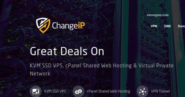 ChangeIP – Great Deals On KVM SSD VPS from $2/month – FLAT 20% offer
