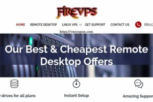 FireVPS – Dedicated Windows RDP Promo only $2.99/month