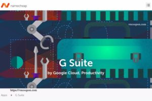 Get $25 in Namecheap credit when you buy a G Suite Plan