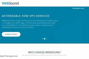 WebSound – 50%  Off Semi-Dedicated KVM VDS – DDoS Protected – Los Angeles & Netherlands Locations