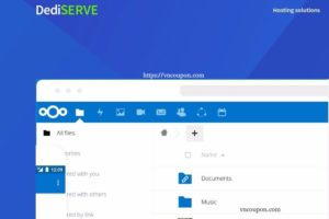 Dediserve Vault – Nextcloud-based Storage Platform – 10GB for free