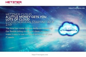 Hetzner Cloud – High Quality & Unbeatable Price from €2.49