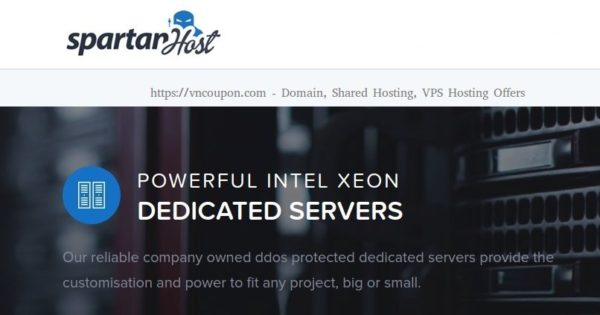 Spartan Host – Special Dedicated Server Offers – E3 CPU/ 16gb RAM/ DDoS protection/ 24 hour setup/ Seattle/ $50 per month!