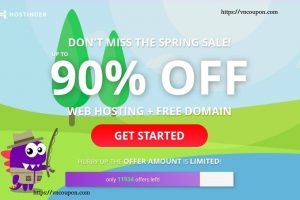 [Summer Sale] Hostinger – 90% OFF Web Hosting + Free Domain