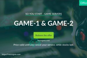 OVH So You Start – 30% Off Dedicated Game Servers Promo