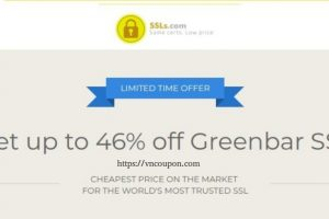 Get 46% off Greenbar EV SSL from SSLs.com