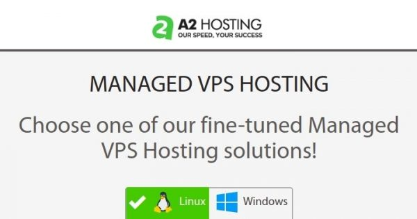 A2 Hosting – 34% Off – Fully Managed VPS – SSD Drives – Anytime Money Back Guarantee