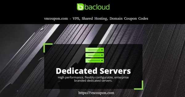 Bacloud – Europe Dedicated Servers from $18/month – Unlimited Traffic + DMCA friendly
