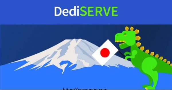 Dediserve expands into Tokyo, Japan – 50% OFF Sale Offer 18 Global KVM Clouds