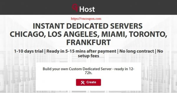 GTHost – Up to 30% OFF Powerful Instant Servers from $54/month