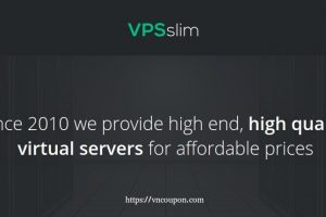 VPSslim – 50% OFF KVM VPS from €4.99/Month – Limited time stock