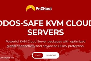 PNZHost – Special KVM VPS  from 512MB RAM $15/Year in USA