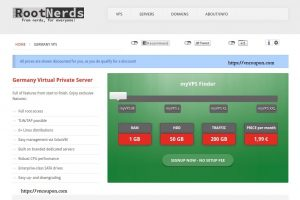 RootNerds – EUROPE VPS & Reseller VPS from €1.99/month