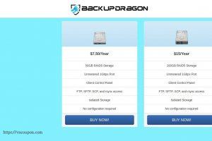 BackupDragon – Budget Backup Services starting at $7.5/Year