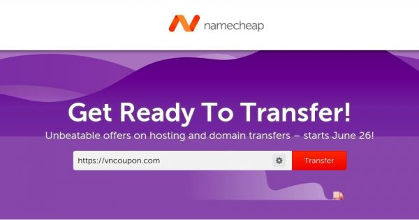 Namecheap – Save 50% off on transferring .COM, .ORG and .NET Domain