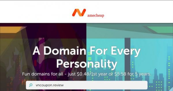Namecheap cheapest TLD – lifestyle, Business & Finance Domain Name for $0.48