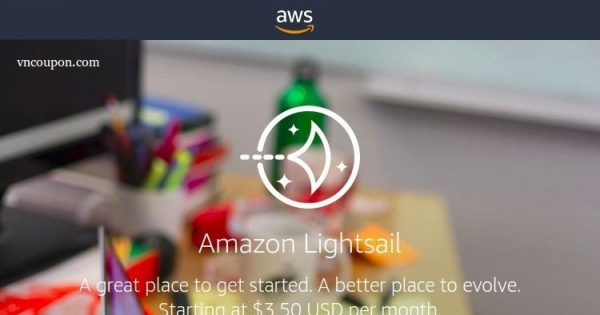 Amazon Lightsail – Simple VPS on AWS from $3.5 Instance/month – Try Lightsail free for one month! – The pricing has been cut in half