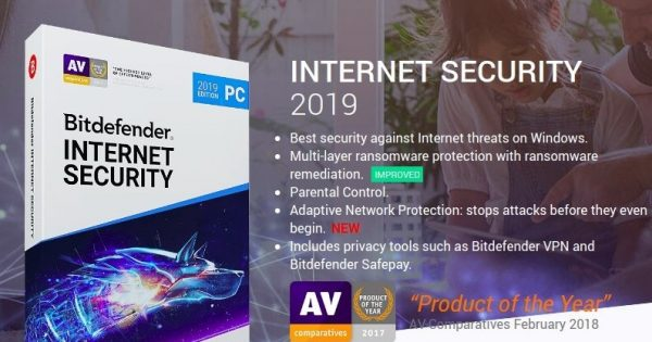 Bitdefender Internet Security 2019 – Get 6 Months Free – Limited time offer