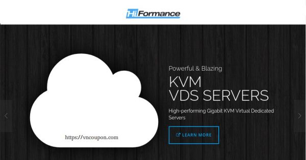 HiFormance – Introducing Hybrid Dedidicated KVM from $10/Month – Double ALL Resources FREE if 3 Year Prepay – Routings to Asia including CN2!