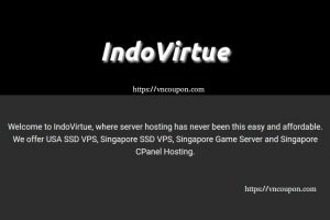 IndoVirtue – Singapore SSD VPS from $5/month