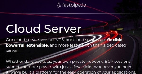 fastpipe.io – New cloud offers – Unlimited Traffic from €2.95/month