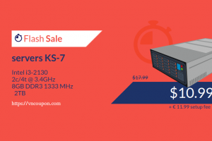 Kimsufi OVH – Special Dedicated Servers from €3.99/month – Servers KS-7 Flash Sale 8GB RAM only €8.99