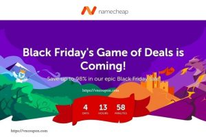 [Black Friday/Cyber Monday 2018] Namecheap – Save up to 98% on Domain, Hosting, SSL and Private Email