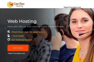 CenTex Hosting Promo – 70 % off Shared Business Hosting on December 2018