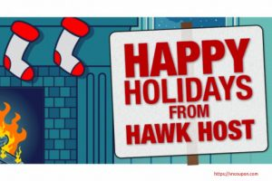 Hawk Host – Here's this years Christmas/Boxing Day 2018 Sales –  You can saveupto70%on your new order