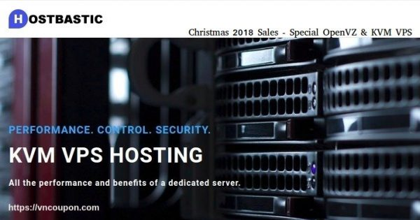 [Christmas 2018] HostBastic – Special KVM & OpenVZ from $2.99/month