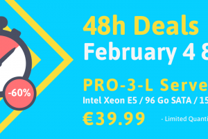 Online.net Server Specials Offer – 48h Deals – Get 60% off on PRO-3-L – Intex Xeon E5/ 96GB SATA / SSD