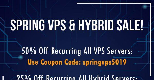 DediPath Spring Sale! Last Chance To Save Big – 50% Off VPS & 25% Off Hybrid Servers
