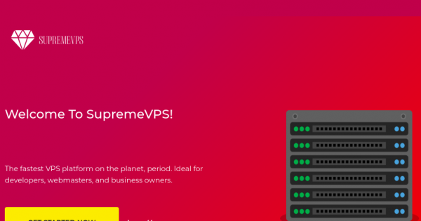 [Flash Sale] SupremeVPS – 4GB RAM Special KVM VPS only $40/Year – SSD Powered!