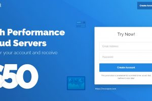 Vultr Promotions And Gift Codes for October 2019 –  $53 Free Credit for New Account – Introduce High Frequency Compute with NVMe Storage