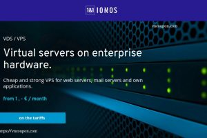 1&1 IONOS – vServer from €1/month in Germany & USA