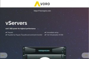 Avoro – Special vServer offers from €11.11/Year