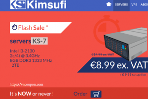 Kimsufi OVH – Special Dedicated Servers from $4.99/month – [Flash Sale] Server KS-7 only €8.99/month