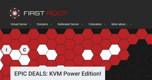 First Root – Special KVM VPS with Recurring Discount from $20/Year