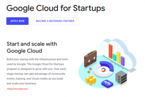 Get up to $100,000 worth of Google Cloud Platform credit for your startup