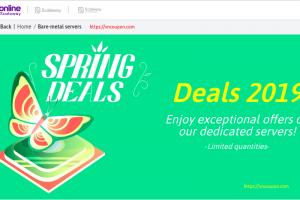 [Spring Deals] Online.net by Scaleway – Dedicated Server Deals