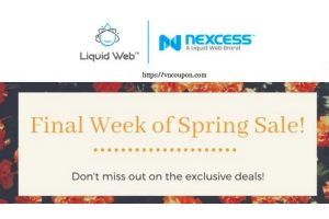 [Spring Sale] Liquid Web – Get 50% off VPS Hosting