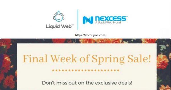 [Spring Sale] Liquid Web – Get 50% off VPS Hosting