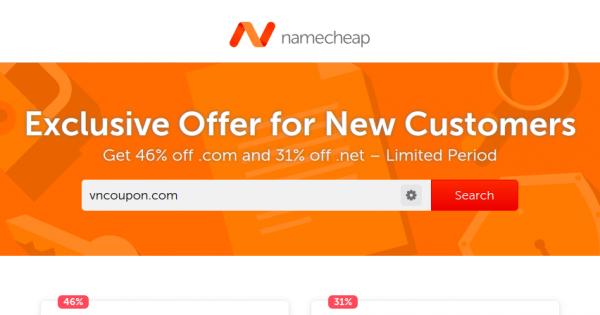 Namecheap com promo code