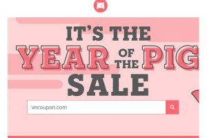 [Year of The Pig Sale] Porkbun Coupon –  $3 COM Domain Registration for first year on June 2019 – free .design for the first year