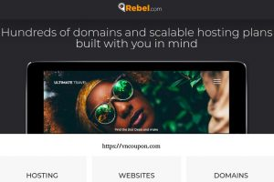 Rebel Coupon & Promo Codes for August 2019 – Get $4 Off .COM Domains –  Get 50% Off Managed WordPress Packages